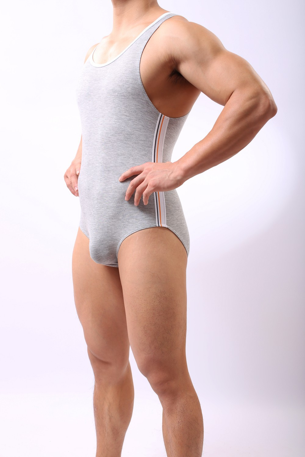 Модный Brand Man Fitness Bodybuilding Bodysuit/Gay Slim Body Shaper Underwear/Training Shapewear