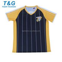 Latest design plus size custom soccer jersey