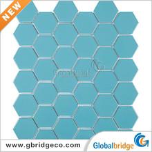 2014 Hote Sale High Quality Blue Ceramic Mosaic Tiles 60HTN303