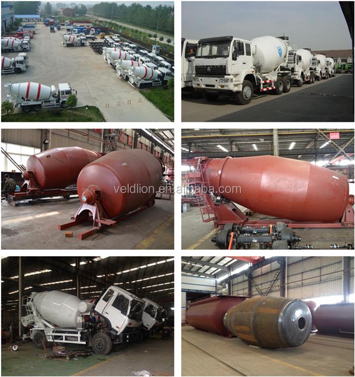 mixer truck factory
