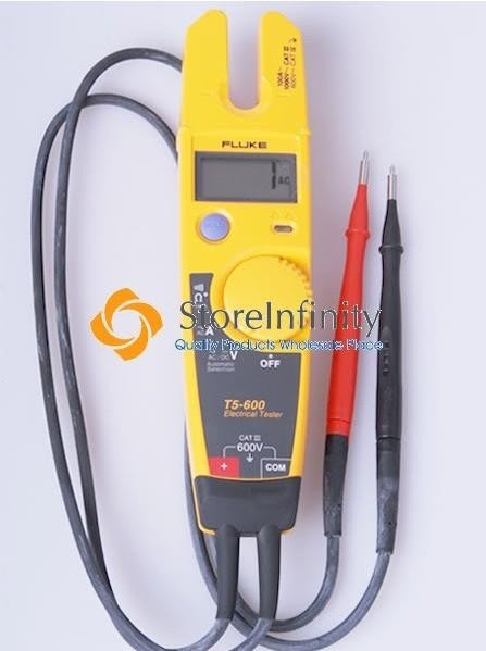 Electric Current Tester : Fluke t holster continuity current electrical
