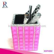 Clear Crystal Pen Holder And Name Card Holder 2 in 1