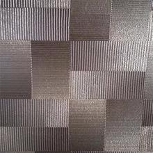 Howoo glitter fabric wallpaper design embossed brick effect wallpaper