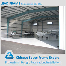Prefab Stainless Steel Space Frame Construction Roof Hangar for Sale