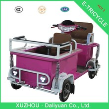 electric quadricycle 3 wheel electric golf cart motorcycle with baby seat