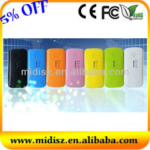 Mobile power supply! Real capacity external mobile power 5200mAh