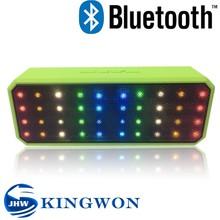 Kingwon 2015 new mini X60 bluetooth speaker with led light, bluetooth speaker with fm radio