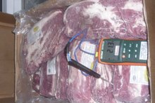 Meat: beef, pork, chicken and offal in bulk. CFR port of buyer