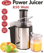 Juice Extractor Stainless Steel / Power Juicer / Whole Fruit Vegetable Juicer Extractor Wide Mouth with 850W