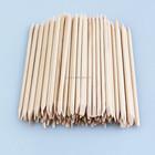 Alta qualidade laranja vara de madeira para clean tool ferramentas unhas 100 pc/bag