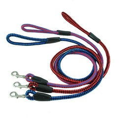 low elastic polyester rope Curly elastic pet leash