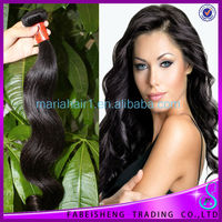 Free Shipping Human Hair Extension brazilian Virgin Hair Body Wave 5A Unprocessed Virgin Hair 3pcs/lot Natural color