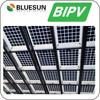Bluesun free design BIPV 120w 150w 200w transparent solar panel