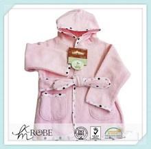 Factory hooded children's bathrobe fashion baby bathrobe for sleepwear
