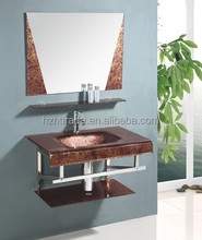 hotel luxury color washing basin in small space