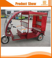 range per charge passanger auto richshaw