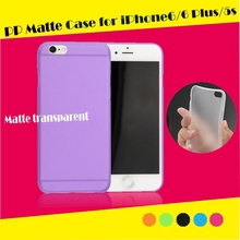 PP matte case for iphone 5 case with factory price