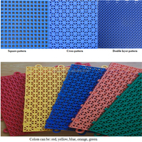 soft pp interlocking floor for sport courts/kindergarten