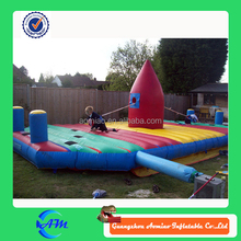 Amusement Supplying Newest Inflatable Basketball Run Game/Inflatable Sport Game for sale
