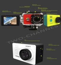 Best travel camera of LEWORKS STD-S6000 Action Camera Full HD DVR 1080P Helmet portable waterproof travel Camera