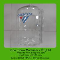 Glass Milk Recorder Jar for the Milk parlor