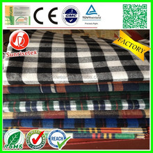 Make-to-Order Supply Type and Plaid Style black white check fabric