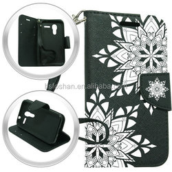 Book Magnetic Wallet PU Leather Flip Case Cover For Alcatel One Touch Fierce XL With Card Slot