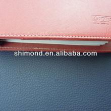 PU material lichee grain surfce design leather book cover