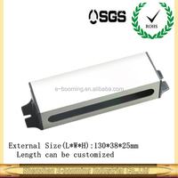 aluminum LED waterproof power supply enclosure/Aluminum extruded enclosure for LED power supply