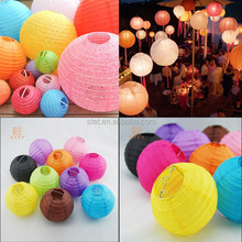 Round Paper Lantern for Party Decoration Chinese Paper Lanterns Wedding Wholesale