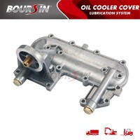 15609-54012 high quality TOYOTA HIACE 2L van mini bus diesel engine oil cooler cover