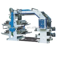 High Speed Flexographic Plastic Printing Machine