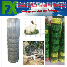 High tensile farm rabbit guard fencing