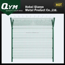 welded panel with razor wire/Airport fence/green color