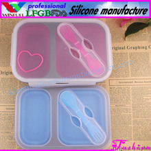 Easy bento box/lunch box containers with compartments