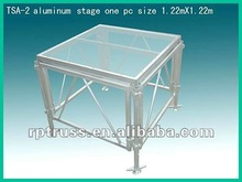 2015 RP Organic Glass Stage/ acrylic stage/ mobile Glass Stage