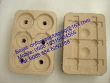 OEM orders Eco-friendly paper pulp cup tray for sale