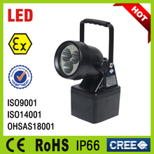 IP66 rechargeable utility explosion proof hand light led explosion proof desk lamp