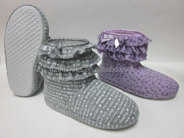 Venta al por mayor barato corte de invierno zapatilla botas ...