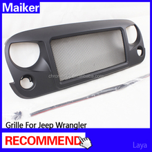 car grille auto accessories for jeep wrangler grill from maiker
