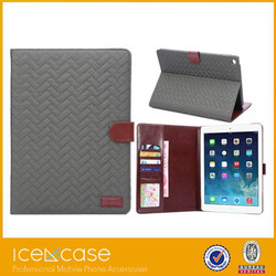 Popular minion case for ipad 2 3 4 leather case for ipad leather case