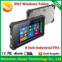 HAOEN Win 8 Android Tablet 3G 2D Barcode Scanner Industry Waterproof Tablet PC Windows Embedded Handheld 8.1 Logistics Tablet PC