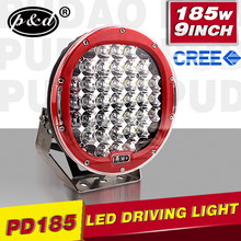 185W High Power 9 inch round led driving light