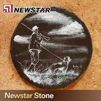 Hot sale china cheap paint to paint slate stone