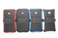 Heavy Duty Case for Motorola Moto E XT1022 Strong Tradesman TPU Hard Case Cover Stand