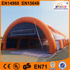 Outdoor customed sport air dome court inflatable tent tennis