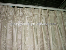 Polyester blackout fabric curtain