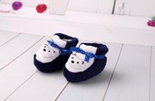 Winter Slip On baby prewalker infant sock shoes