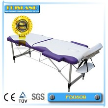 folding aluminium massage table