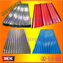 Hot selling Promotion goods/sheet metal roofing shingles corrugated steel sheet